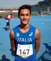 Bronzo Cristian Faidiga (14.11 PB)