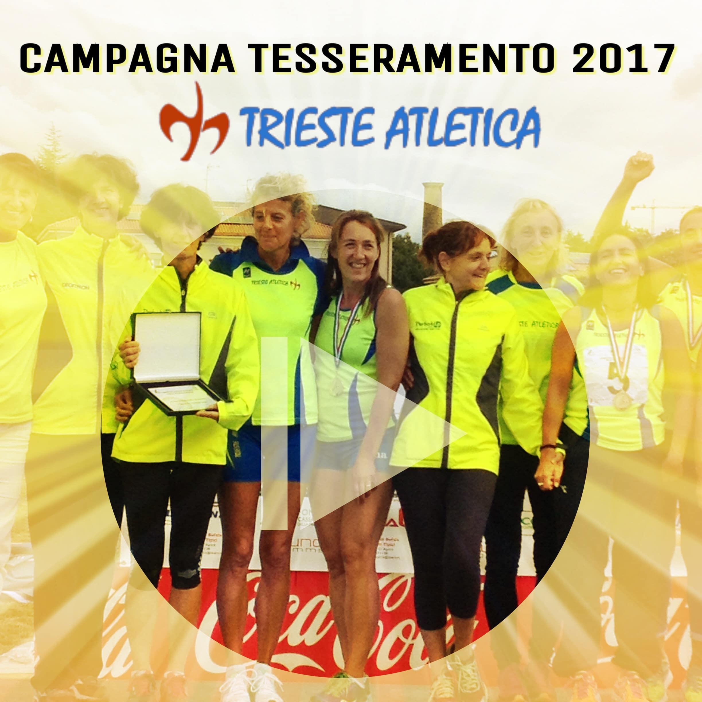 Iscriviti con Trieste Atletica