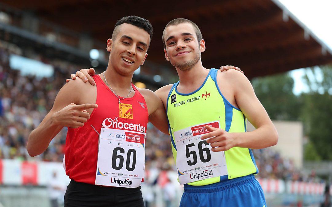 3 giorni di gare dei Campionati italiani assoluti di Trieste