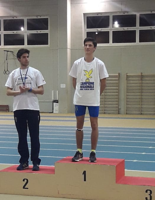 CAMPIONATI REGIONALI INDOOR ALLIEVI E JUNIOR