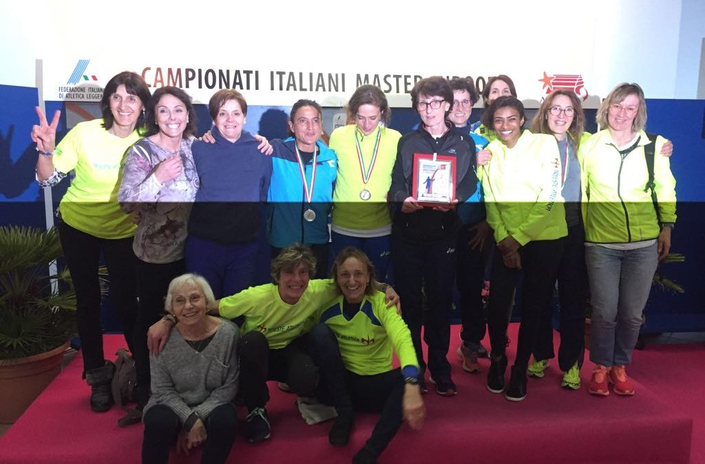 TRIESTE ATLETICA PROTAGONISTA  AI CAMPIONATI ITALIANI INDOOR E DI LANCI INVERNALI MASTER