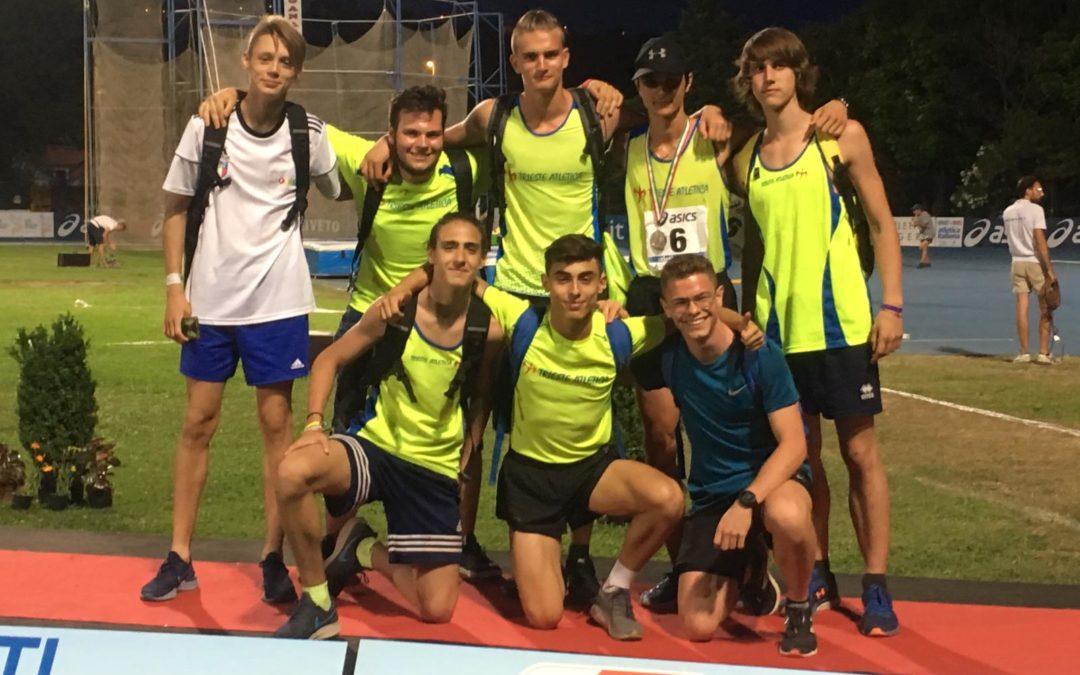 Campionati italiani individuali allievi . Siamo fra le prime 10 società.